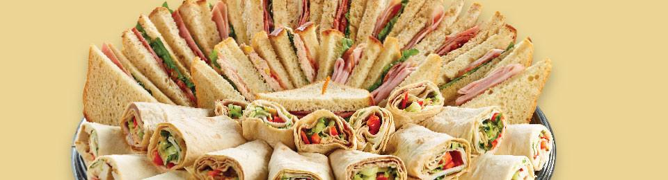 Wrap and Sandwich Platter